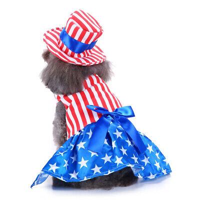 Haustier Amerika Flagge Partei Kostüm Für Hunde und Katzen