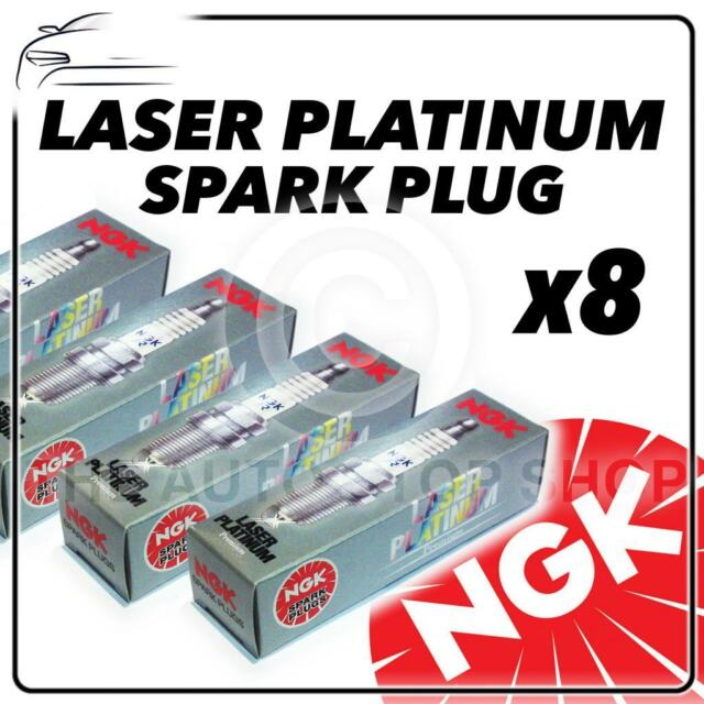8x NGK SPARK PLUGS Part Number PGR5A Stock No. 3987 New Platinum SPARKPLUGS