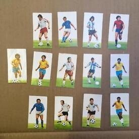Job lot Football GOLDEN WONDER England WORLD CUP SOCCER Collectors Cards Vintage gum crisp packet