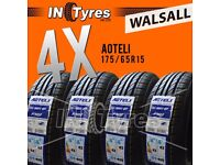 4x 175/65R15 BUDGET Tyres Fitting is Available