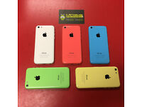 APPLE IPHONE 5C 16GB SIMFREE COMES WITH CHARGER AND THREE MONTHS WARRANTY***FREE DELIVERY***********