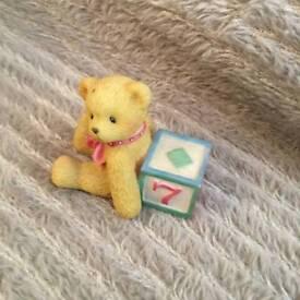 Cherished Teddies 'Teddy And 7' Ornament - 302902 - 1998.