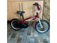 Mongoose junior Bmx suit ages 5 upwards , 14 inch wheels