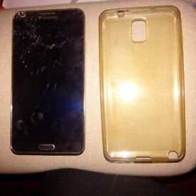 Samsung GALAXY Note 3 LTE SM-N9005 damaged Screen