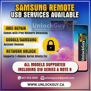 SAMSUNG GALAXY S10 SERIES *NO SERVICE* *UNREGISTERED SIM* *NETWORK FIX* | GOOGLE ACCOUNT REMOVE | SPRINT UNLOCK