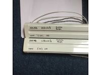 Vertical blinds-good condition- cream.