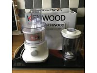 NEW KENWOOD FOOD PROCESSOR COMPLETE