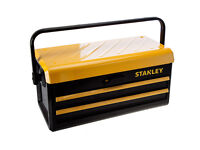"""Stanley 2-Drawer Metal Tool Box 19"""""""