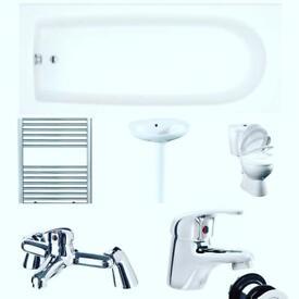 Basix bathroom suite