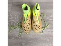 Various football boots size 8.5 to size 10
