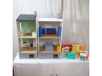 Ikea Lillabo Dolls House with Furniture