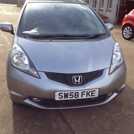 59 PLATE HONDA JAZZ 1.4EX 5DR 39000MILES IN SILVER £4975