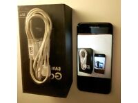 Samsung Galaxy S7 Edge Black UNLOCKED + 128 GB MicroSD Card + Headphones +