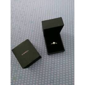 Engagement ring from h.samuel, size J