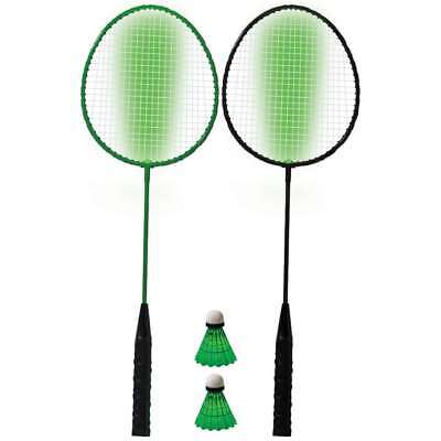 Franklin Sports 2 Player Badminton LED Rackets