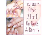 ✨ 2 for 1 on Nails & Beauty until the end of February 💕 Based in Middleton LS10 ✨