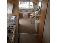 Immaculate 6 Berth Caravan for hire at Trecco Bay Porthcawl situated in Ash.