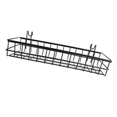 Wandhalterung Organizer, Metalldraht Lagerregal Rack Home Decor 40x10x5cm ()