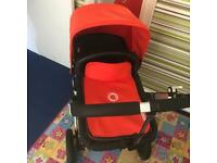 Bugaboo Cameleon 2 full travel system and maxi cosi car seat and base