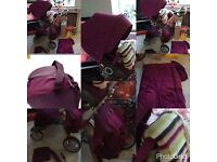 Stokke with load extras