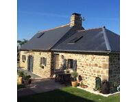 Renovated former cider barns. Home and Gite. NORMANDY FRANCE
