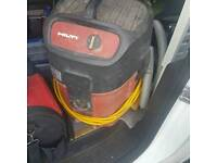 Hilti 110v wet and dry hoover