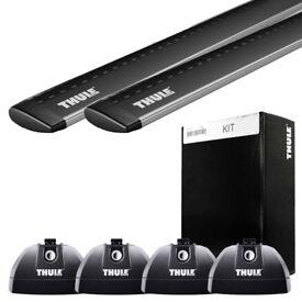 Thule Wingbar Roof Bars Black