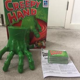 Creepy Hand truth or dare game