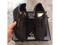 Giuseppe Zanotti Frankie Trainers (Black and White available)