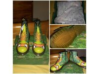 dr martins teenage mutant ninja turtles boots size 1 and 2