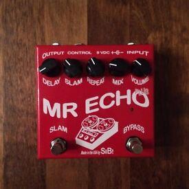 SIB Electronics Mr. Echo Plus - Boutique Digital / Analog Delay Guitar Effects Pedal - Mint in Box!