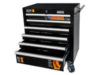 Brand NEW Halfords 6dr Industrial Tool Cabinet / FREE Local Delivery / Tool Chest Toolbox Tool Box