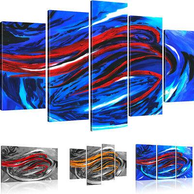 Vogel Leinwand Kunst (Wandbilder Abstraktes Habicht Bilder auf Leinwand Vogel Kunstdruck)