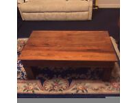 FOR SALE. Solid oak Coffee table. large TV corner unit plus a sideboard