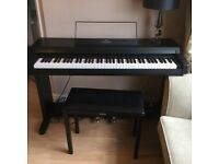 YAMAHA CLAVINOVA. CLP.250 ADVANCED WAVE MEMORY,PIANO, AND YAMAHA STOOL