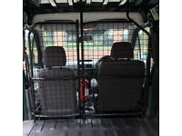 Ford Transit Connect 02-13 Bulkhead with Door - Opening Wire Mesh Cage Bulk Head - SWB Low-Roof Van