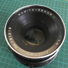 Mamiya Sekor C 127mm lens for RB67