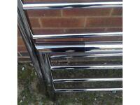 new unused chrome bed frame with appollo nike ortho mattress