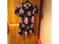 H&M, size 12 skater dress