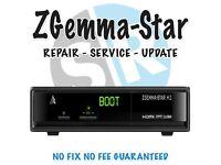 Zgemma box boot fix