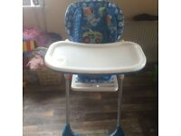 Chico polly high chair for sale