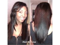 Mobile Hair Stylist weave extensions and more