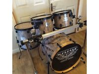 Fully Refurbished Serenity Custom Drum Kit