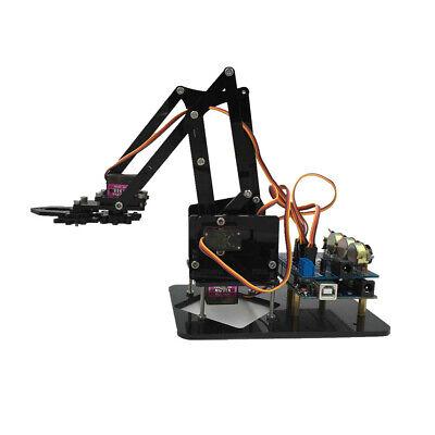 4-dof Robot Arm Mechanical Manipulator Kits 4 Servos For  Diy 4 Axis