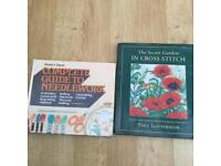 Free Books - Needle craft books & cross stitch - excellent condition