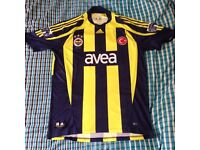 Fenerbahce 2007 Football Shirt - Size Large