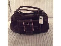 Brand new burgundy small handbag