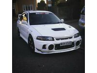 Mitsubishi evo 4 with evo 5 engine, good spec, clean!