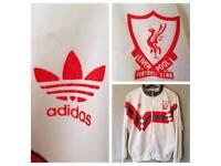 1989 Liverpool FC Track Top Jacket