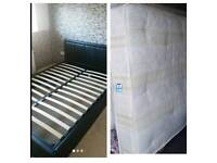 Nice ottoman double Bed (delivery available)